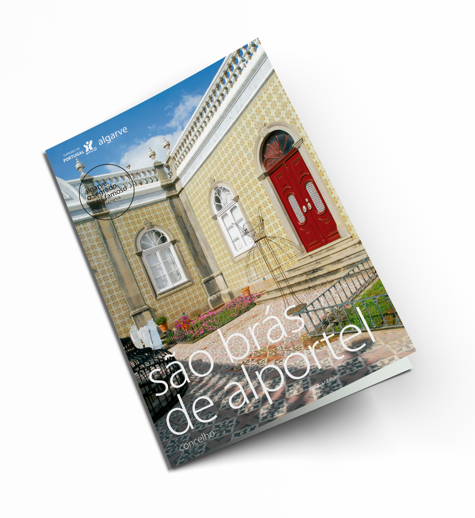 Broschüre über den Bezirk São Brás de Alportel