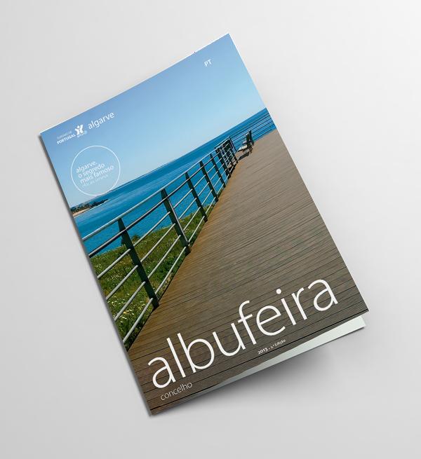 Broschüre über den Bezirk Albufeira