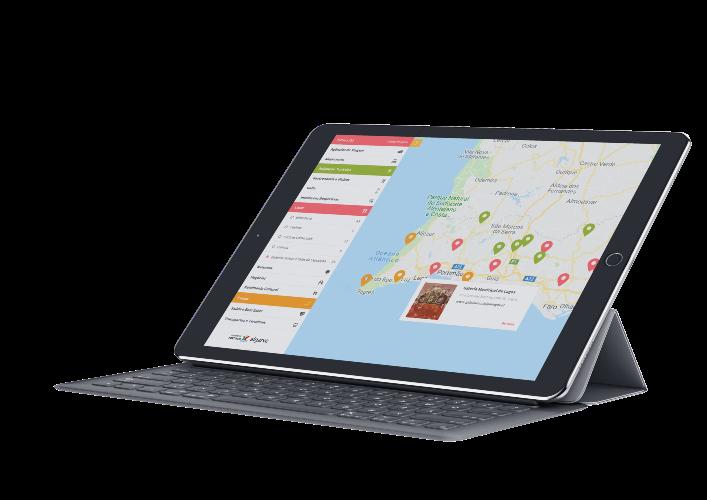 Kennen Sie bereits die interaktive Karte?